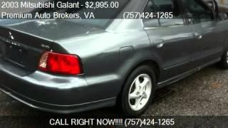 2003 Mitsubishi Galant ES - for sale in Virginia Beach, VA 2