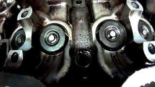 Toyota 3S-FE Притирка клапанов+замена колпачков