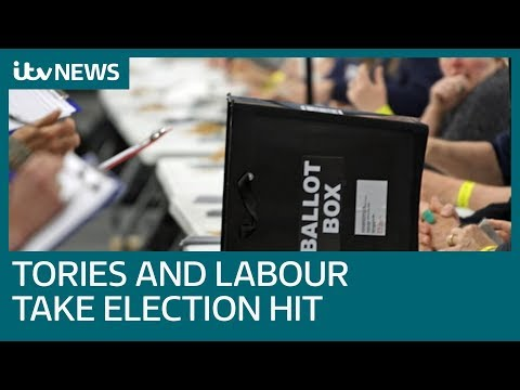 Local elections: Tories and Labour hit by Brexit anger | ITV News