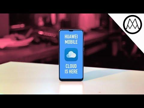 Huawei Mobile Cloud - The Huawei P20's Hidden Feature?