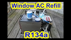 How To Refill Window House AC or Portable Air Conditioner with R134a + Tips + What I've Learn!