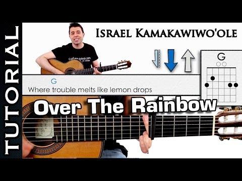 Como tocar Somewhere Over The Rainbow - Tutorial de Guitarra guitar how to play