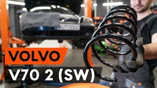 Wie VOLVO V70 II (SW) Fahrwerksfedern austauschen - Video-Tutorial