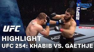 UFC 254: Khabib vs. Gaethje Highlight