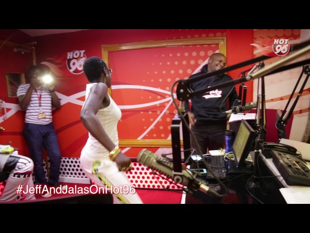 Akothee dancing in studio