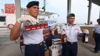 MMEA seizes RM2.5 million worth of contraband off Tanjung Piai waters