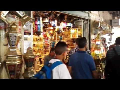 On the way to the Al-Aqsa Mosque, Jerusalem on the first Friday of Ramadan. June 2017