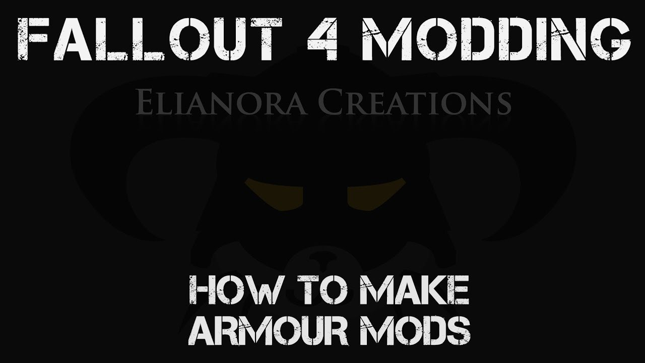 Fallout 4 Modding How To Make Armour Mods Fo4edit Youtube However, i recently learned that they are mutually exclusive. fallout 4 modding how to make armour mods fo4edit