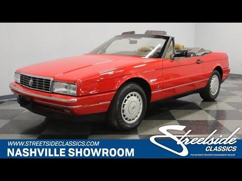 1988 Cadillac Allante For Sale 995 Nsh Youtube