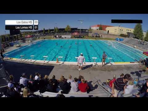 Los Gatos High School Vs Las Lomas - Varsity Waterpolo (Player's View)