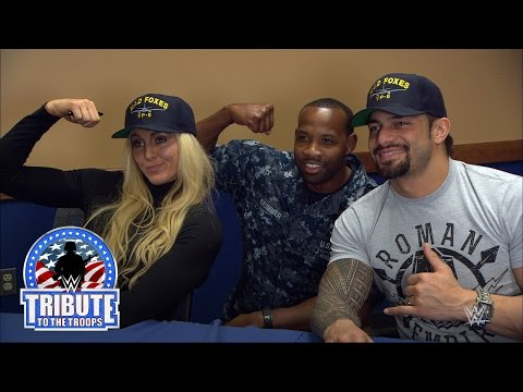 WWE Superstars and Divas visit U.S. service members stationed in Jacksonville
