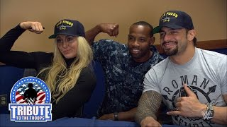 WWE Superstars and Divas visit U.S. service members stationed in Jacksonville