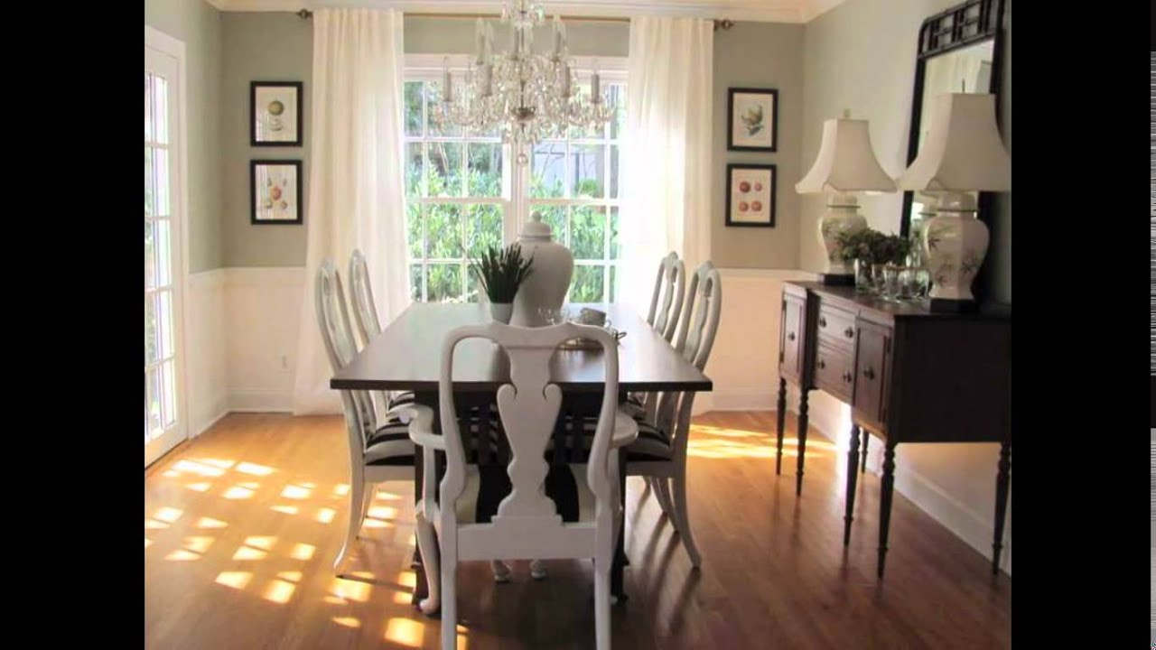 dining room paint ideas | dining room paint color ideas - youtube