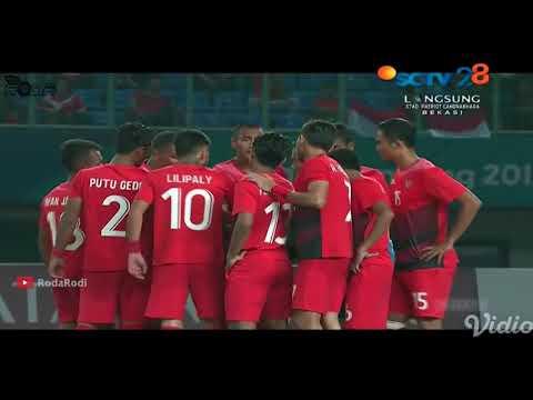 TIMNAS U 23 VS HONGKONG U 23 Skor 3   1 Asian Games 2018
