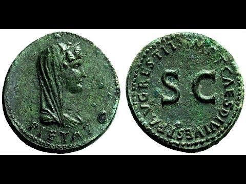 Дупондий, 81 год, Монета, Цезарь Тит, Древний Рим, Dupondius, 81 AD