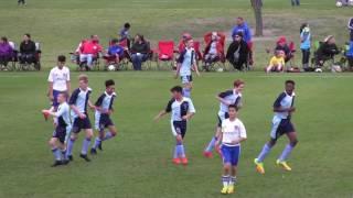 Kent Schools FA U13 v FC Dallas Youth 04B South Red First Half