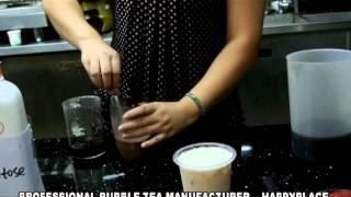 How To Make Original Taiwan Bubble Tea? Flavor Bubble Tea By Flavor Powder, Flavor Syrup