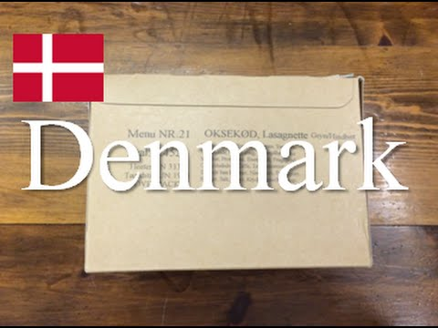Denmark: Danish 24 Hour Field Ration ~2015~