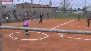 Little Girls Kickball Game Ends with A Bang