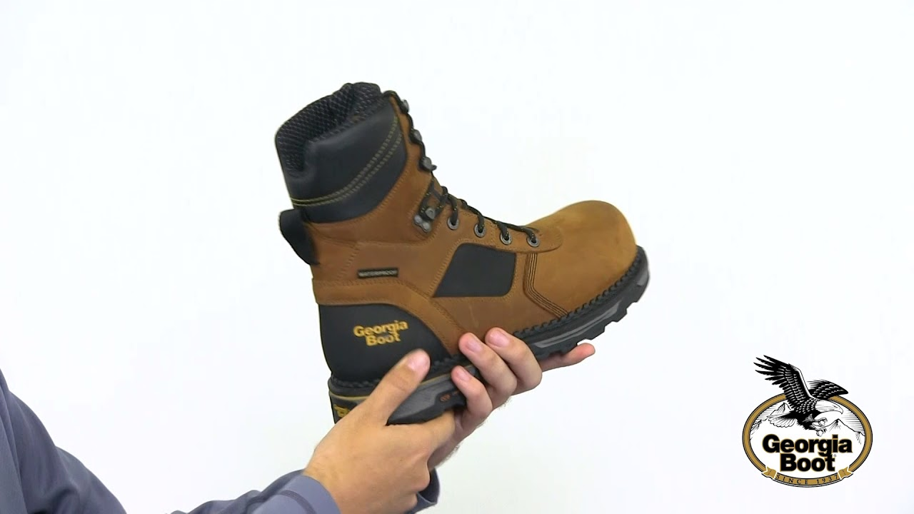 0c8ba5d9852 Georgia Boot Hammer HD Composite Toe Waterproof Work Boot Style# - GB00132