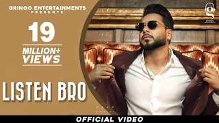 New Punjabi Songs 2021 | Listen Bro | Khan Bhaini | Gal Sun Makhna | PenduBoyz | Latest Punjabi Song