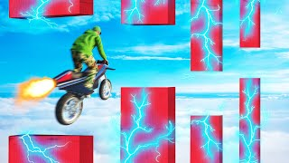 Rocket Bike FLAPPY BIRD Challenge! (GTA 5 Funny Moments)