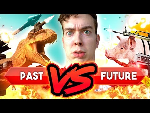 Totally Accurate Battle Sim WITH DINOSAURS