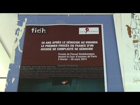 First trial on genocide in Rwanda to open in Paris
