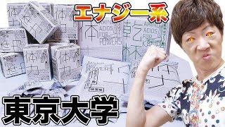 東京大学が作ったエナジー系食品シリーズが未来。