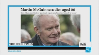 Martin McGuiness, 'terrorist turned statesman', dies at 66