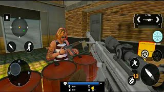 Grand Gangster War Shooting - FPS Shooting Games - Android GamePlay #13