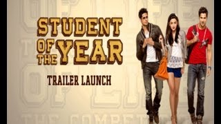Student Of The Year - Trailer Launch Event