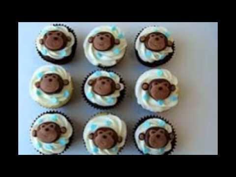 Monkey Themed Baby Shower Cakes Youtube