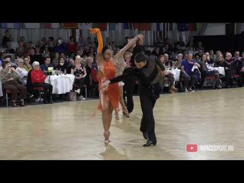 Artyom Liaskovsky - Ksenia Zaputriaeva ISR, Rumba / Antwerp Diamond DanceSport Cup 2020