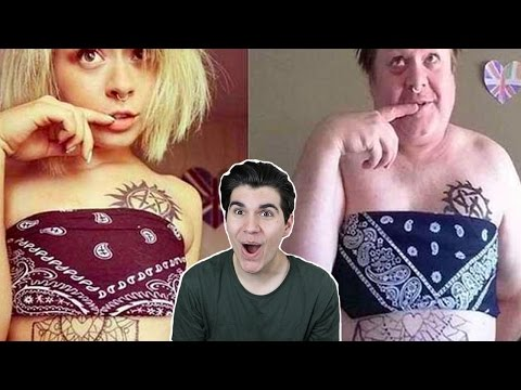 PARENTS WHO COPIED THEIR KIDS SELFIES!!