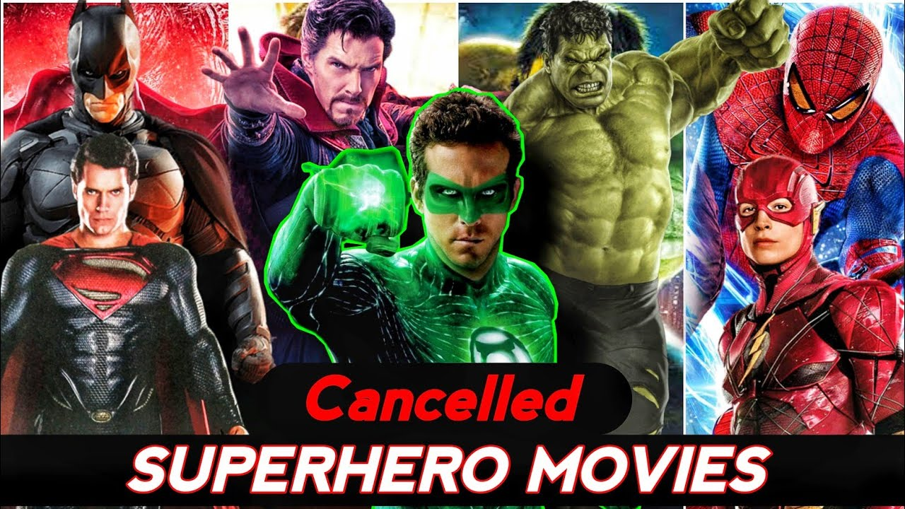 Superhero movies that got Cancelled Explained in Hindi (SUPERBATTLE)