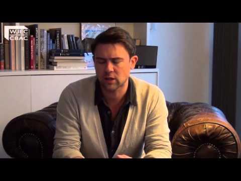 WJEC's exclusive interview with poet, Owen Sheers