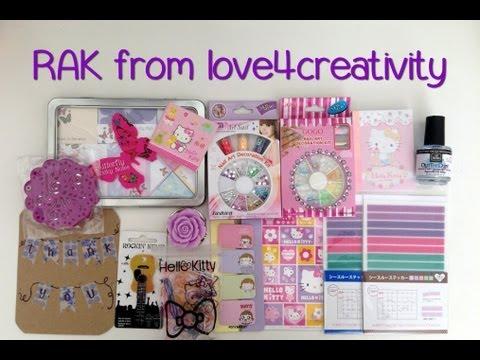 RAK from love4creativity - Aug. 23, 2013.