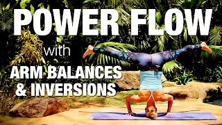 Power Flow with Arm Balances & Inversions Yoga Class - Five Parks Yoga