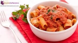 Pasta With Tuna Sauce - Quick Italian Recipe