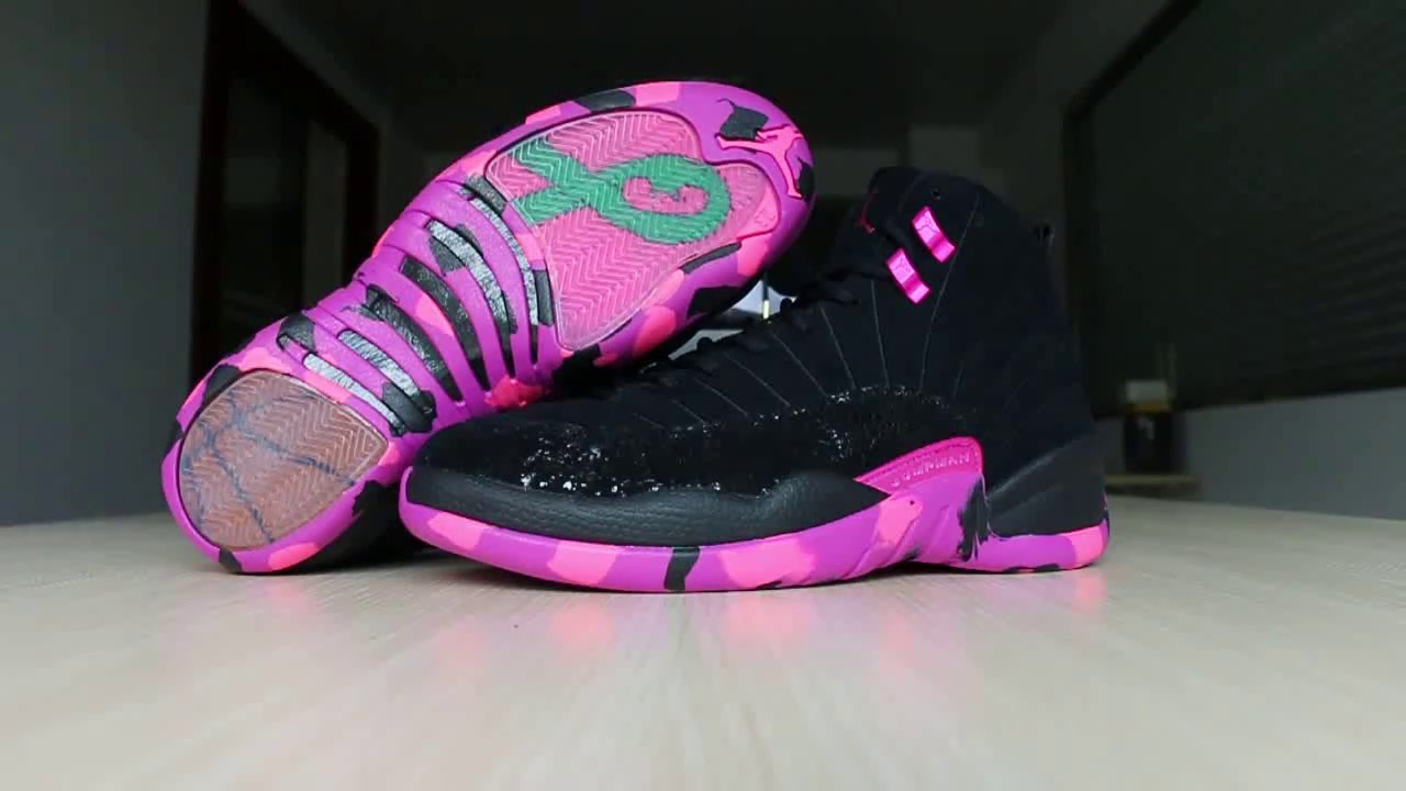 Air Jordan 12 Doernbecher DB HD Review - YouTube b53bdc792