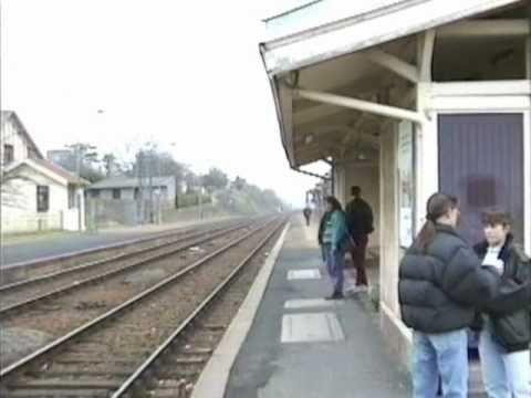 PONTORSON 1993 MONT-SAINT-MICHEL to DOL SNCF