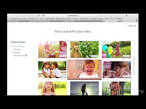 Artificial Intelligence Video Creation: Amazing Video Tools : Using Biteable - Tutorial 1
