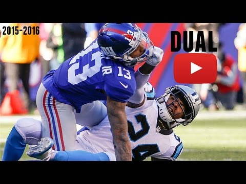 Odell Beckham Jr. vs Josh Norman Highlights (6 Flags Thrown)
