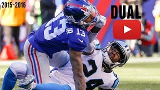 Odell Beckham Jr. vs Josh Norman Highlights (6 Flags Thrown) thumbnail