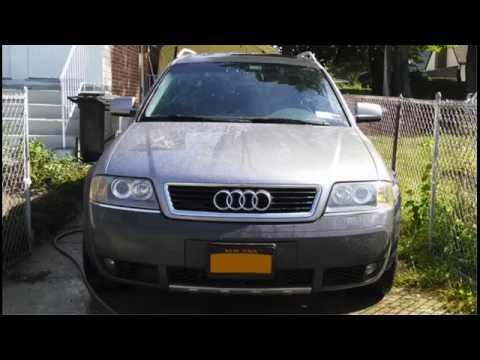 Audi C5 Allroad Front CV Axle Removal