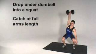 One Arm Dumbell Power Snatch