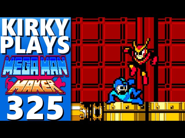 Playing Your Mega Man Maker Levels 325 - Touhou Rock Maiden FC Part 2