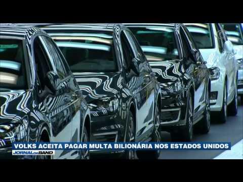 Volkswagen aceita pagar multa bilionária nos EUA