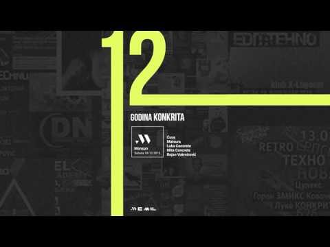 Concrete Djz - Live @ Monsun, 12 Years of Concrete Djz, 05.12.2015